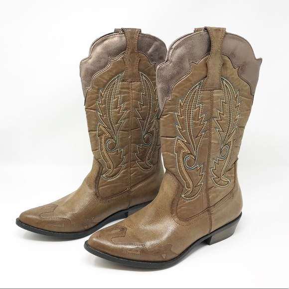 6c600f4a769 NEW Coconuts by Matisse Cimmaron Cowboy Boots 7.5 NWT